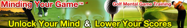 Mental game golf products image
