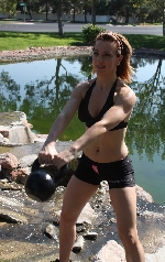 kettlebell workout image